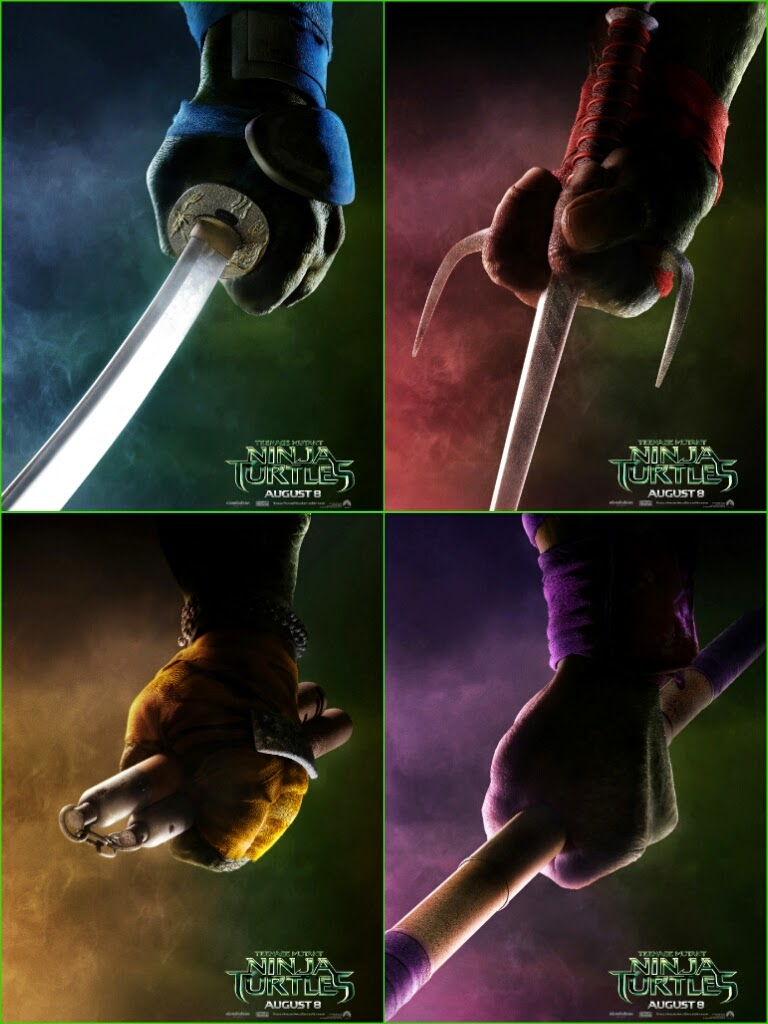 New Images From Tmnt Including Master Splinter Shredder