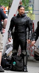 "First look at Shredder, Bebop and Rocksteady at ""Teenage Mutant Ninja Turtles 2"" set in NYC"