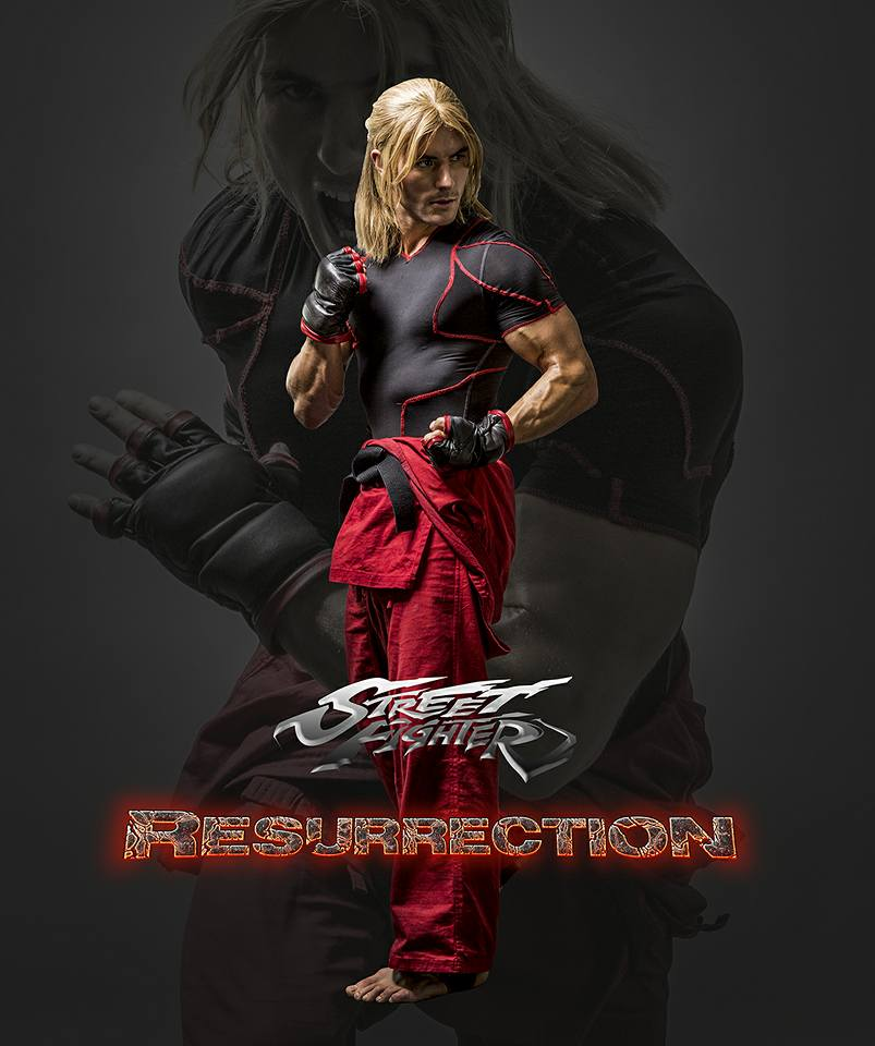 Teaser For Street Fighter Resurrection Featuring Alain Moussi As Charlie Nash Update Trailer 2 M A A C