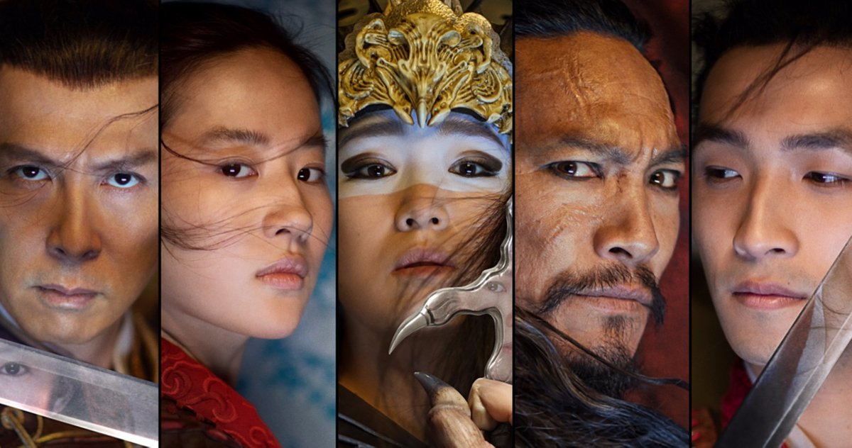 Final Trailer For Disney S Live Action Mulan Starring Liu Yifei Donnie Yen Jet Li Gong Li Update Disney M A A C
