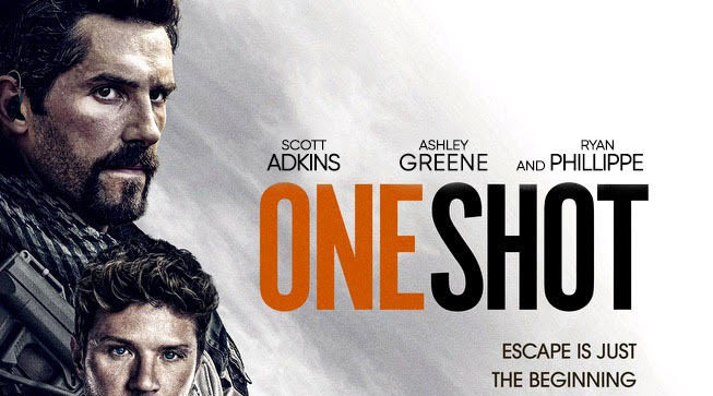 Teaser Poster For One Shot Starring Scott Adkins Ryan Phillippe M A A C